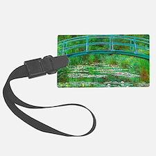 The Japanese Footbridge by Claude Monet Luggage Ta