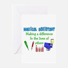 Medical Assistant Greeting Cards