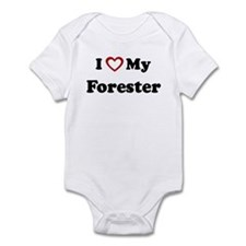 I Love My Forester Infant Bodysuit