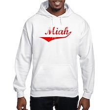 Miah Vintage (Red) Hoodie Sweatshirt