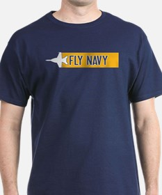 U.S. Navy: Fly Navy (F-18) T-Shirt