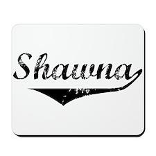 Shawna Vintage (Black) Mousepad
