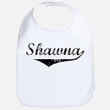 Shawna Vintage (Black) Bib