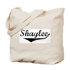 Shaylee Vintage (Black) Tote Bag