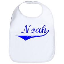 Noah Vintage (Blue) Bib