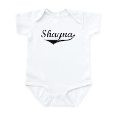 Shayna Vintage (Black) Infant Bodysuit