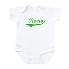 Rocio Vintage (Green) Infant Bodysuit