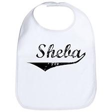 Sheba Vintage (Black) Bib