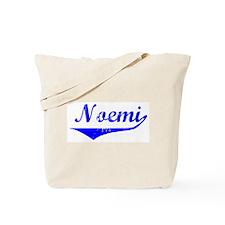 Noemi Vintage (Blue) Tote Bag