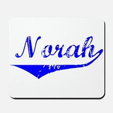 Norah Vintage (Blue) Mousepad