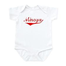 Mireya Vintage (Red) Infant Bodysuit