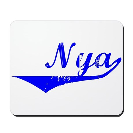 Nya Vintage (Blue) Mousepad