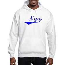 Nya Vintage (Blue) Hoodie Sweatshirt