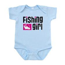 Fishing Girl Onesie