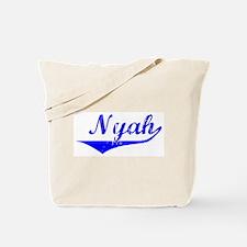 Nyah Vintage (Blue) Tote Bag