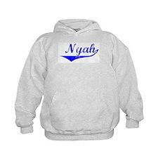 Nyah Vintage (Blue) Hoodie