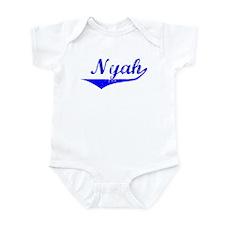 Nyah Vintage (Blue) Infant Bodysuit