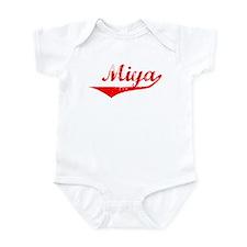 Miya Vintage (Red) Infant Bodysuit