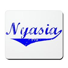 Nyasia Vintage (Blue) Mousepad