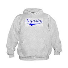 Nyasia Vintage (Blue) Hoodie