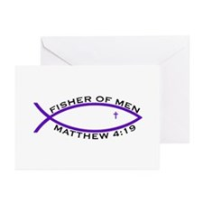 Fisher (PUR) - Greeting Cards (Pk of 20)