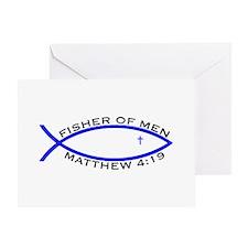 Fisher (BLU) - Greeting Card