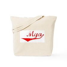 Mya Vintage (Red) Tote Bag
