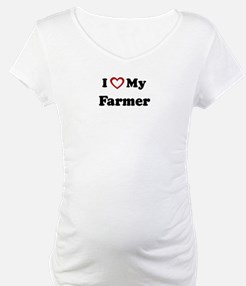 I Love My Farmer Shirt