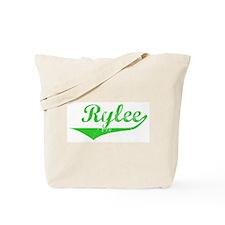 Rylee Vintage (Green) Tote Bag