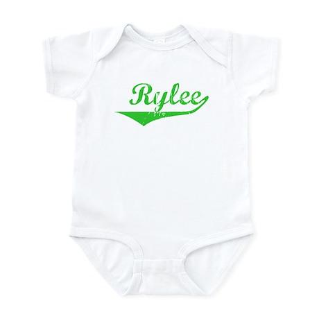 Rylee Vintage (Green) Infant Bodysuit