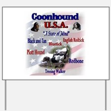 Coonhound USA Yard Sign