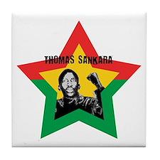Thomas Sankara Tile Coaster