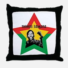 Thomas Sankara Throw Pillow