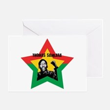 Thomas Sankara Greeting Card