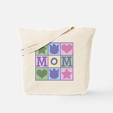 Fun Mom Quilt Squares Tote Bag