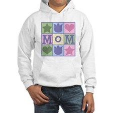 Fun Mom Quilt Squares Hoodie