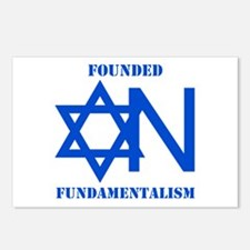 Founded On Fundamentalism Postcards (Package of 8)