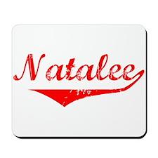 Natalee Vintage (Red) Mousepad