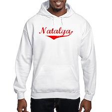 Natalya Vintage (Red) Hoodie Sweatshirt