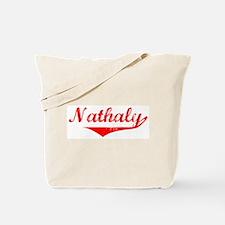 Nathaly Vintage (Red) Tote Bag