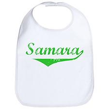 Samara Vintage (Green) Bib