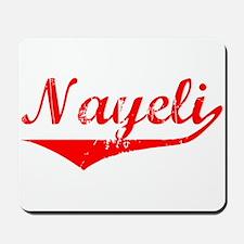 Nayeli Vintage (Red) Mousepad
