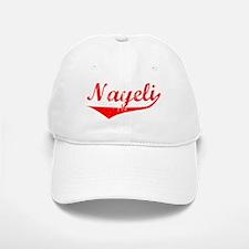 Nayeli Vintage (Red) Baseball Baseball Cap