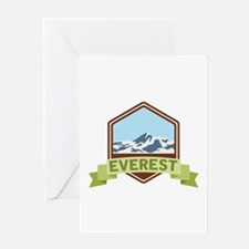 Mount Everest Greeting Cards