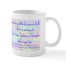 24/7 Flu CFS Fibromyalgia Small Mug