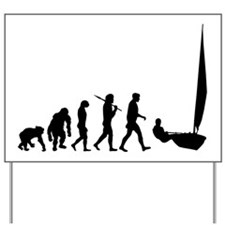 Sailing Evolution Yard Sign