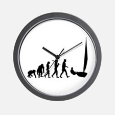 Sailing Evolution Wall Clock