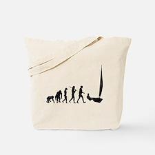 Sailing Evolution Tote Bag