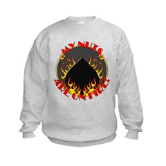 My Nuts Are On Fire Sweatshirt