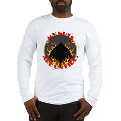 My Nuts Are On Fire Long Sleeve T-Shirt